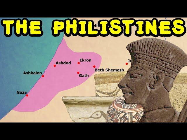 The Philistines in History (who they were and where they came from)