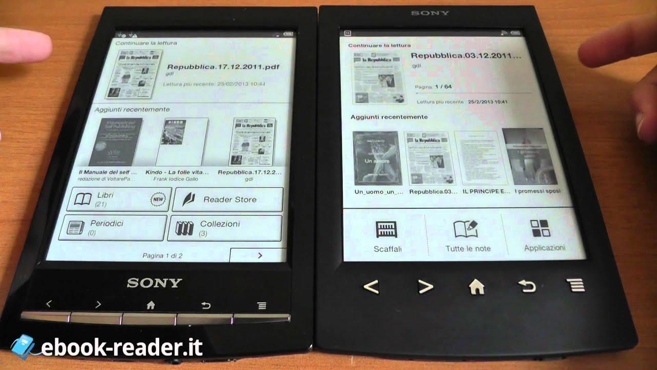 Sony Reader Wi-Fi (PRS-T1BC) Schwarz: E-Book-Reader mit ...
