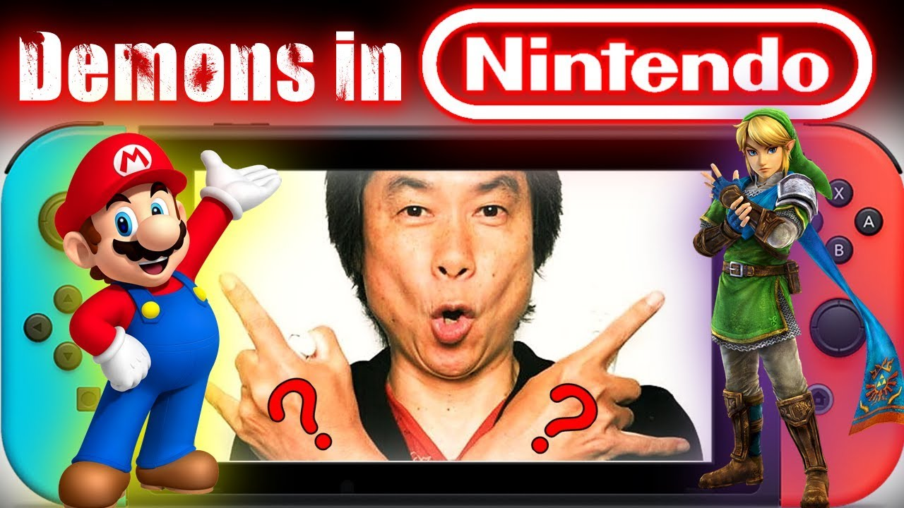 NINTENDO'S Digital DEMONS & WITCHCRAFT | True History of Nintendo - LED