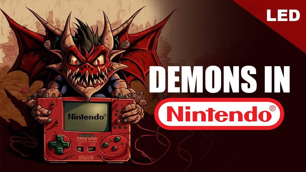 NINTENDO'S Digital DEMONS & WITCHCRAFT | True History of Nintendo - LED