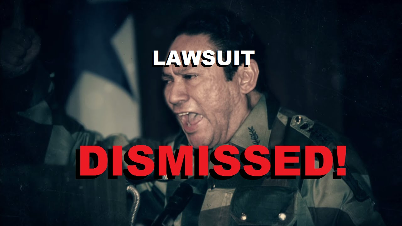 So I heard Noriega's lawsuit against Activision has been ...