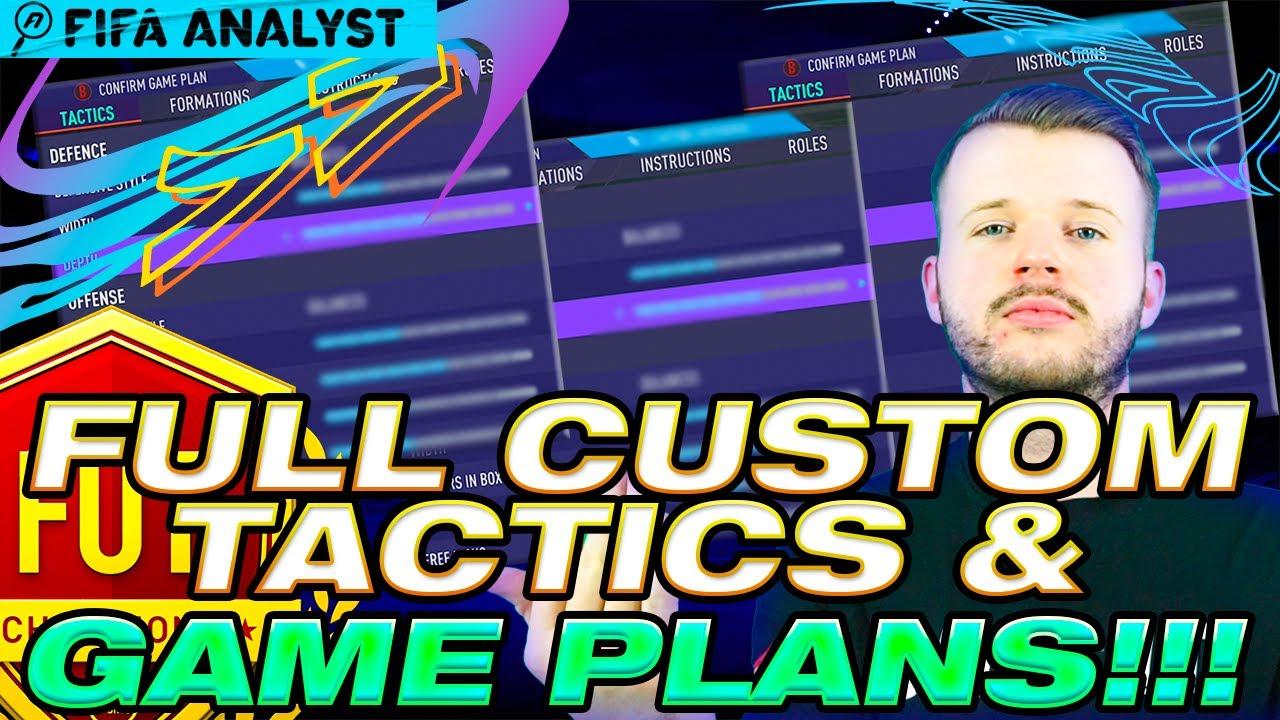 FIFA 21 Full Custom Tactics and Game Plans - FIFA 21 Meta Enough For You?   FUT21