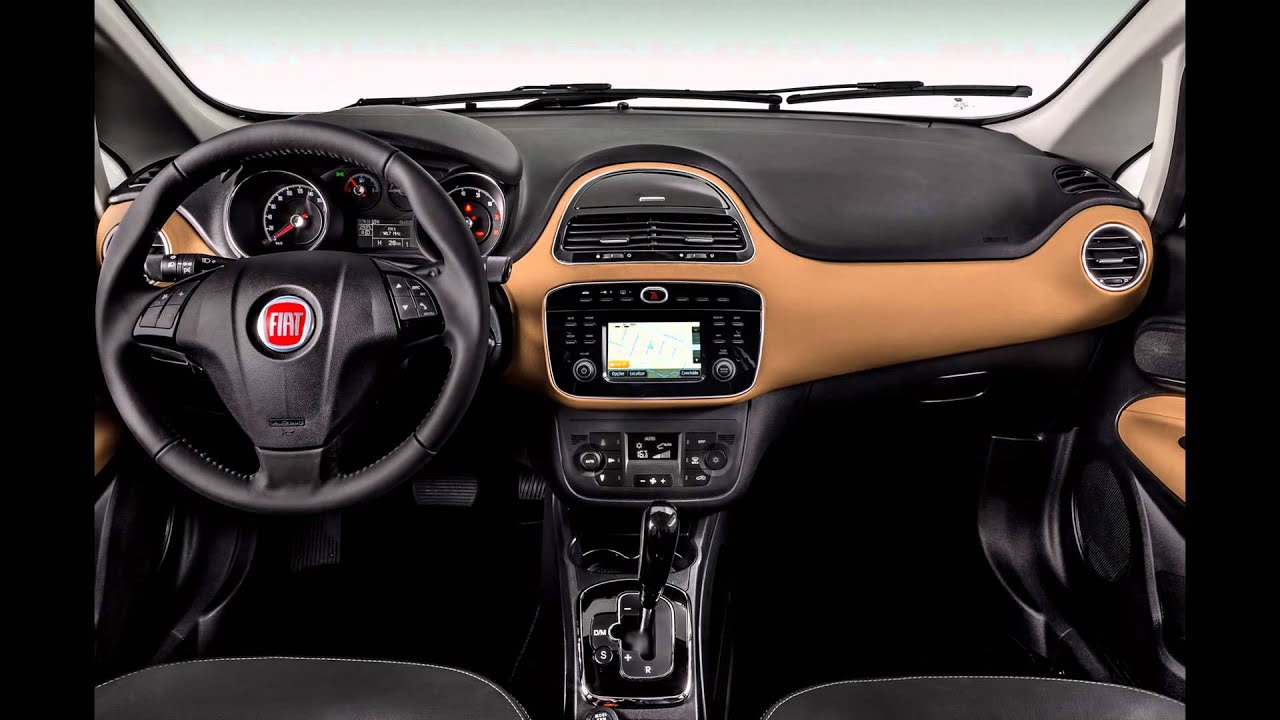 2016 fiat punto interior youtube