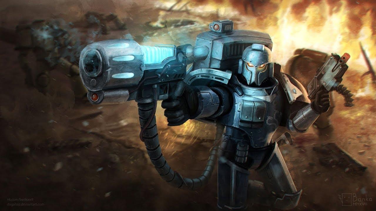 Traitor Space Marines Tribute - Way Down We Go [Warhammer 30 000 Horus  Heresy Music Video/GMV/AMV]