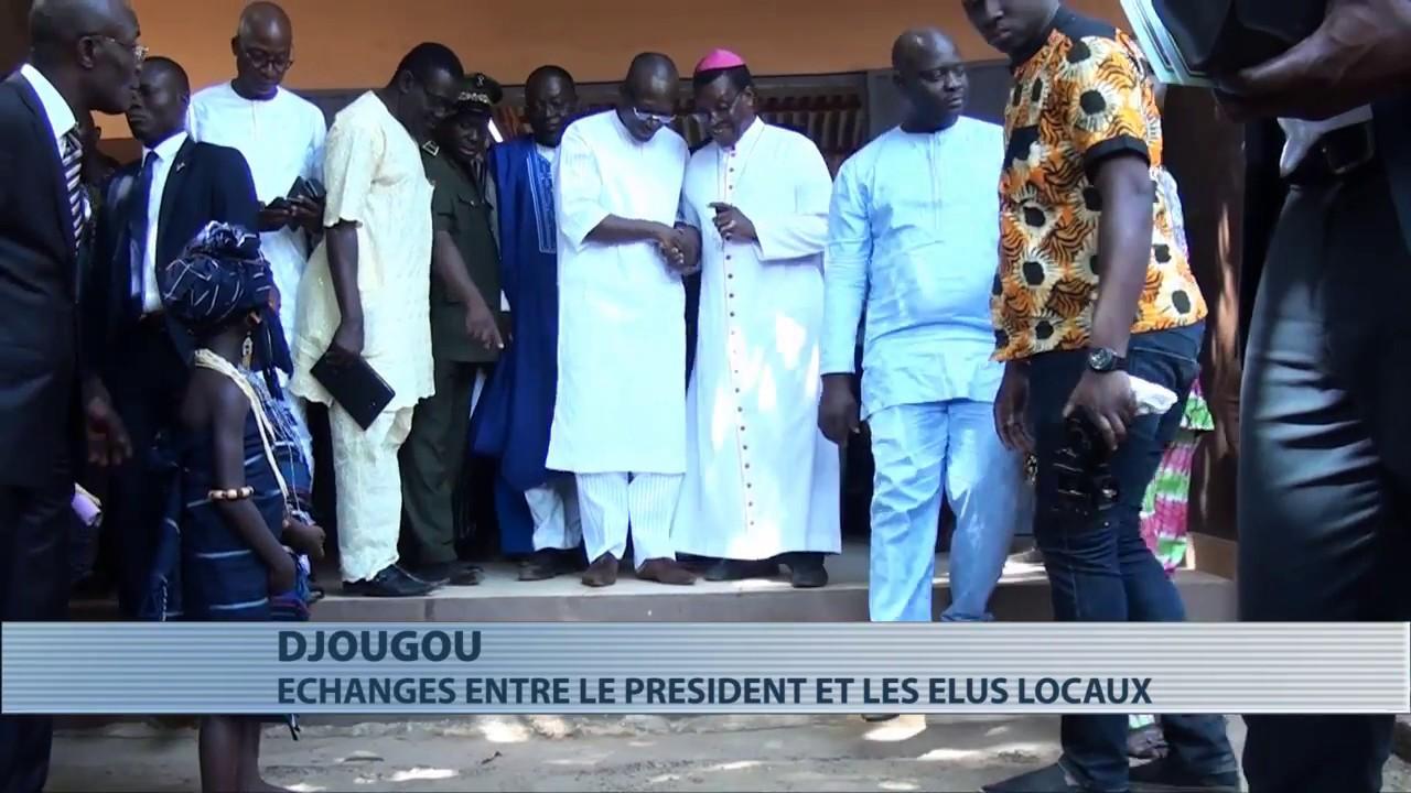 L'étape de Djougou de la tournée de Patrice Talon dans le Nord