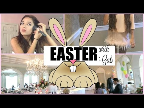 EASTER DAY VLOG! SPEND EASTER WITH ME + NEW HAIR