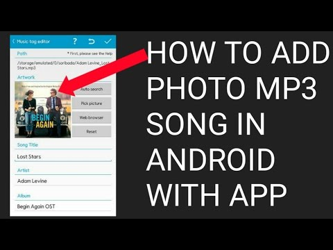 How To Add/Edit/Remove Mp3 Album/Cover Art/Mp3 Tag ||How To add Photo in Mp3 song in Android-[Hindi]