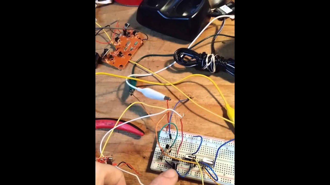 Diy Rf Latching Relay Video 1 Of 2 Youtube Wiring