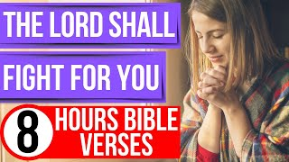 Spiritual warfare prayer scriptures (Encouraging Bible verses for sleep)