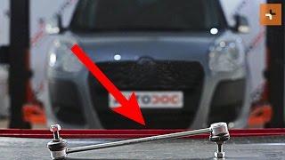 Hoe een koppelstang vooraan vervangen op een FIAT DOBLO 2 263 HANDLEIDING | AUTODOC