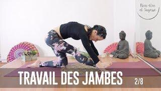 tuto yoga | travail des jambes | 2/8
