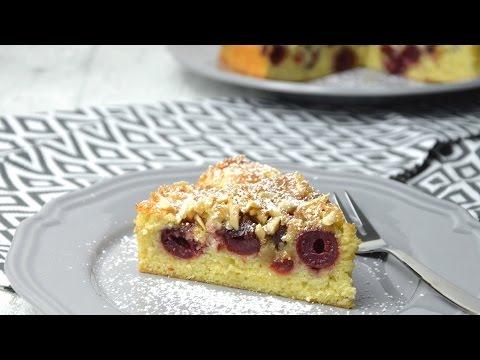 Kirsch Mandel Kuchen Thermomix Youtube