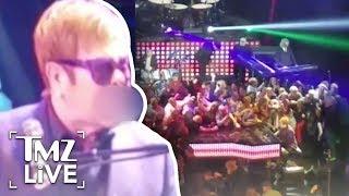 Elton John Storms Off Stage! | TMZ Live