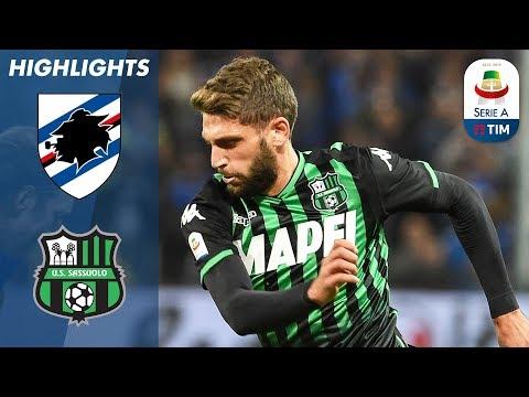 Sampdoria 0-0 Sassuolo | Woodwork Denies Berardi in Marassi Stalemate | Serie A