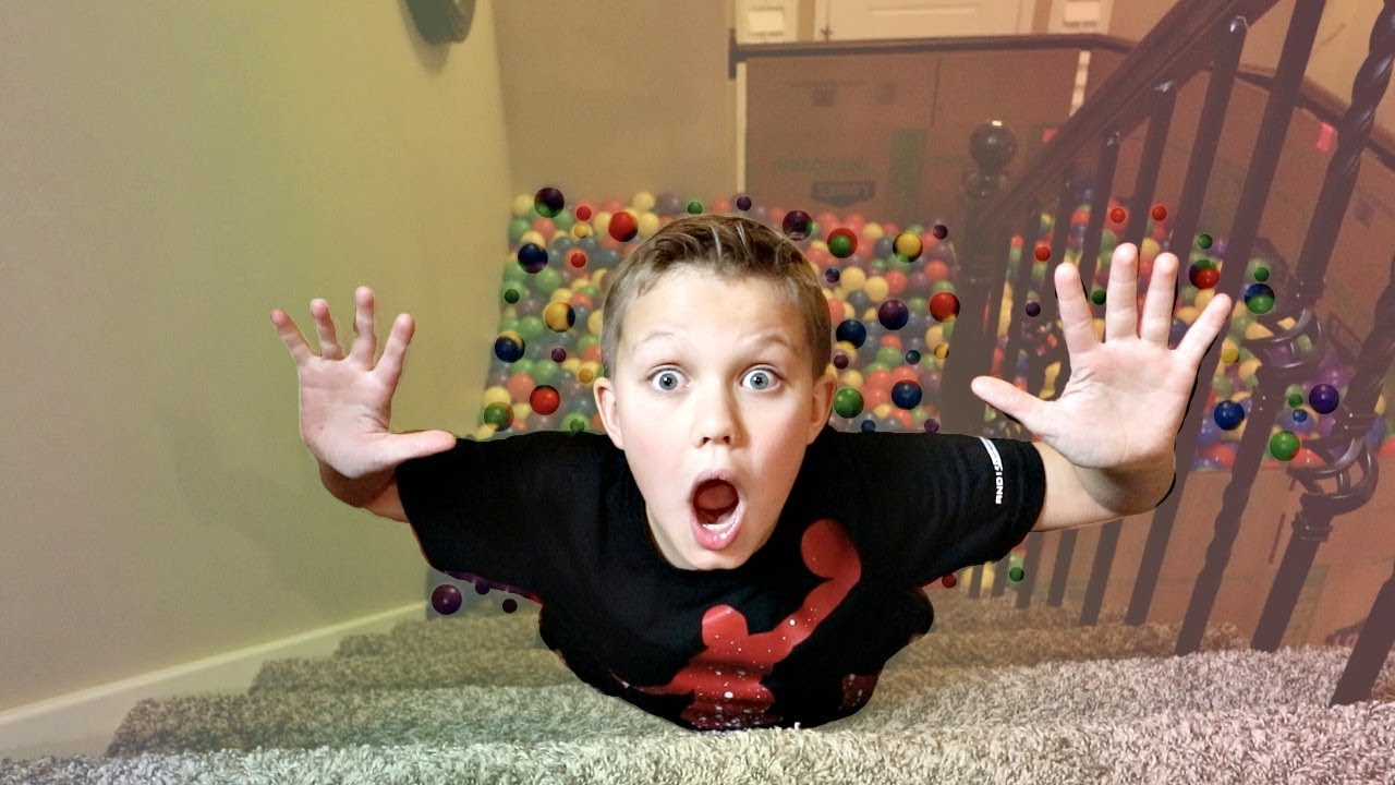 SQUISHY vs. REAL BALL PIT! - YouTube
