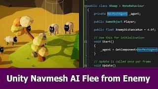 Einheit Navmesh AI Tutorial : Flucht vor dem Feind