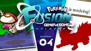 STARTER EVOLUTION! - Pokémon Fusion Generations 2 Nuzlocke Part 4!