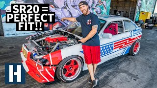 Nissan SR20 Fits Perfectly in Sh*tcar! Our Cheap BMW Gets a Serious Upgrade