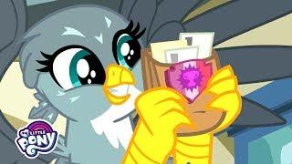 'Spike's New Friend, Gabby!' Official Clip 🦅 MLP: Friendship is Magic Season 9