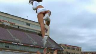 Repeat youtube video Time Warp Slow Motion Cheerleaders