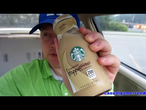 Reed Reviews Starbucks Bottled Vanilla Frappuccino