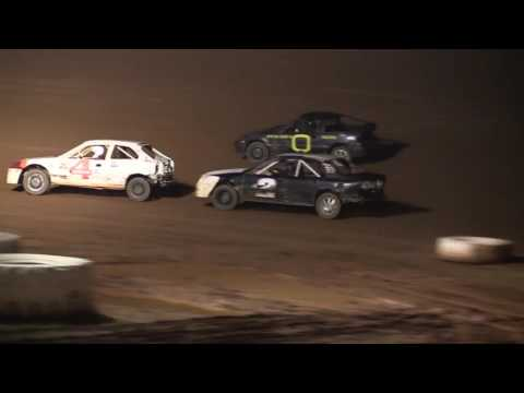 Midway Speedway 4 Cylinder Feature 10-1-2016