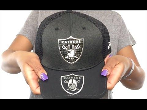 e415cb79eb4 Raiders  2017 NFL ONSTAGE FLEX  Hat by New Era - YouTube