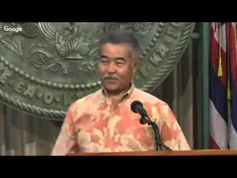 Proclamation ceremony honoring the UH Rainbow Warriors and Rainbow Wahine basketball teams