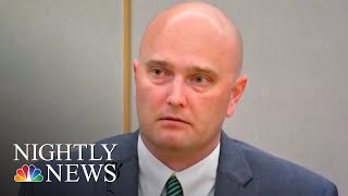 Former Texas Police Officer Found Guilty Of Murder For Fatally Shooting Teen   NBC Nightly News