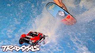 Traxxas 1/10 Slash Brushless TSM 4WD RTR Blue #1 Video