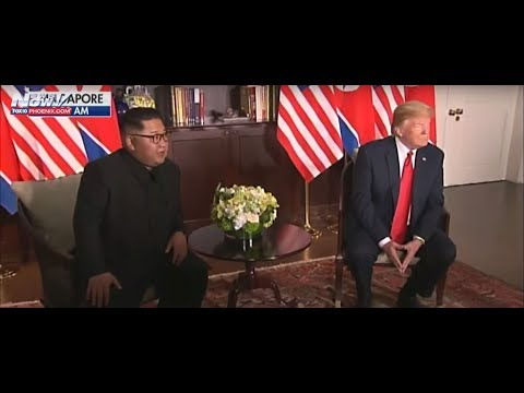 President Trump Meets Kim Jong Un - North Korea Summit In Singapore (FNN)