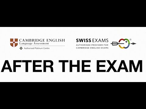 Cambridge English Exams Switzerland: Your Result and Certificate