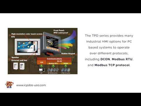 TouchPad Controller | ICP DAS USA Inc