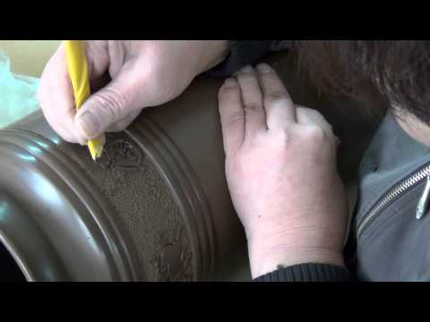 Creative Culture black pottery process YT