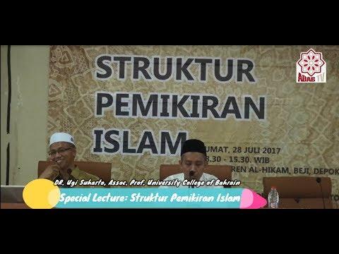 [Adab TV] Assc. Prof. Dr. Ugi Suharto - Struktur Pemikiran Islam (1/4)