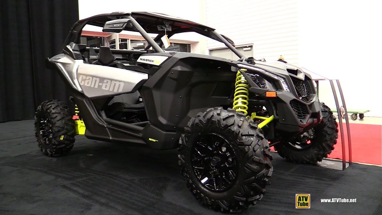 2018 Can Am Maverick X3 Turbo Side By Atv Walkaround 2017 Drummondville Show