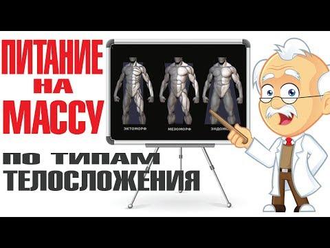 🍚🍗Лучшие продукты для НАБОРА МАССЫ по типам телосложения