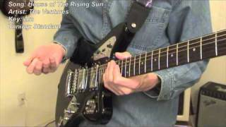 House of The Rising Sun - guitar lesson
