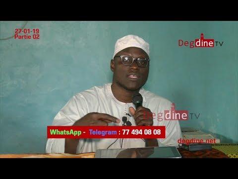 Conférence: Oussoul Ahlou Sounnah-02 du 27-01-19 à Thiès || Oustaz Mor KÉBÉ H.A