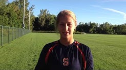 Senior Rachel Blum discusses the non-conference schedule - Syracuse Women's Soccer