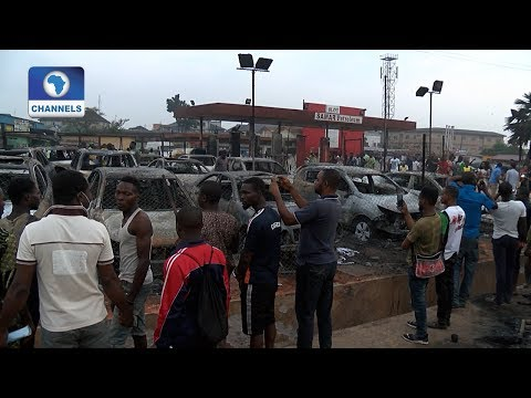 Properties Destroyed As Explosion Rocks Abule Egba, Lagos