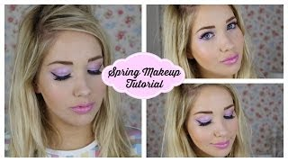 Pink Spring Makeup Tutorial | Away with the Fairies Thumbnail