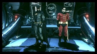 BATMAN ARKHAM KNIGHT - BATMAN INC SKIN STORY MODE CLIPS PT 2