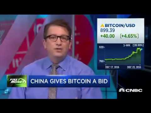 China Gives Bitcoin and Cryptocurrency a Bid