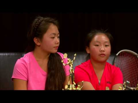 Young Hmong tennis players making to national and now international tournaments.