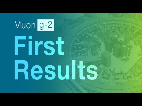 Muon g-2 experiment finds strong evidence for new physics