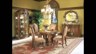 Aico Monte Carlo - Classic Pecan By Michael   Amini From Www.imperial-furniture.com