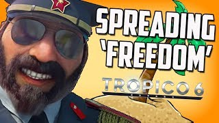 I Try To Create the Perfect Society but I Get Invaded (Tropico 6)