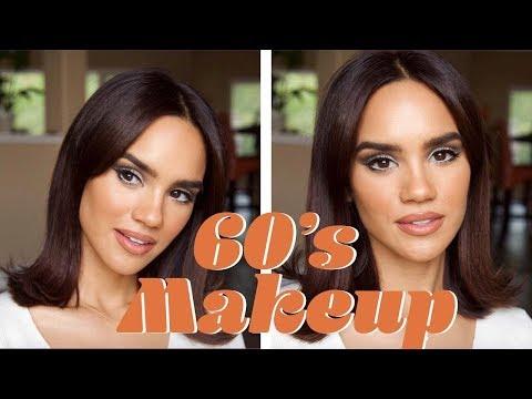 60's Makeup Look Tutorial   Dacey Cash