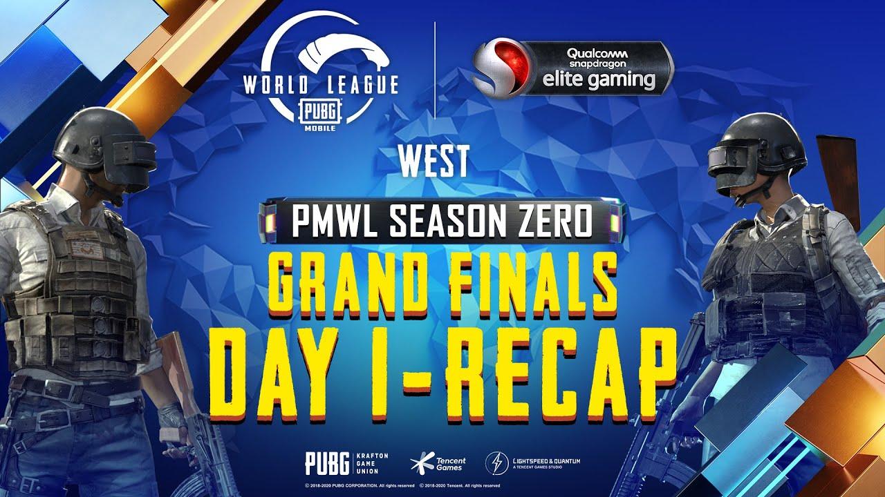 PUBG MOBILE World League West Season ZERO - WEEK 4 DAY 1 Grand Finals Recap